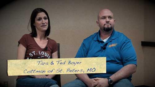 Tara and Ted Boyer - Cottman Franchisee Testimonial