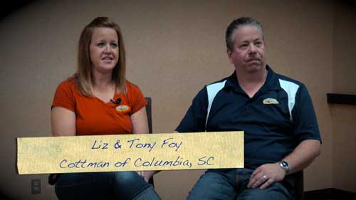 Liz and Tony Foy - Cottman Franchisee Testimonial
