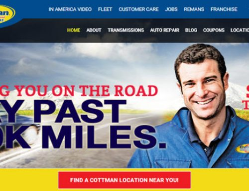 Cottman Transmission and Total Auto Care Re-Launches Website