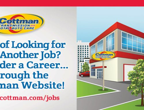 Tired of Looking for Just Another Job?  Consider A Cottman Career