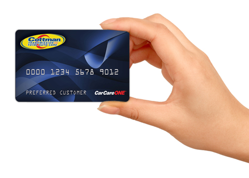 get financing at cottman transmissions
