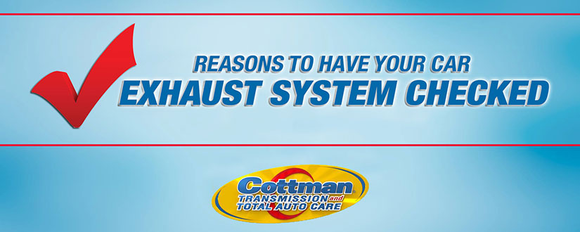 car smell like exhaust? Have your exhaust system checked.