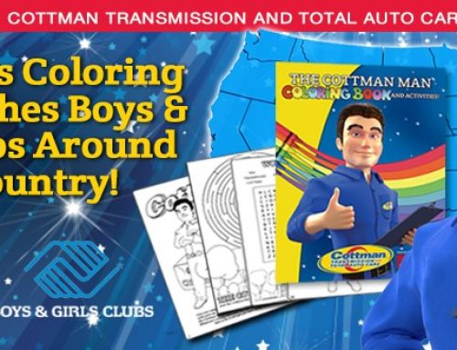 Cottman's Coloring Book Reaches Boys & Girls Clubs  Around The Country